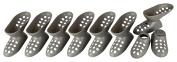8 Pairs of Shoe Holder for Shoes with Heel High Heels Shoes Stapler Value Set grey