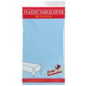Party Dimensions 140cm x 270cm Rectangular Tablecovers / Tablecloths - Bundle of 6 - Light Blue