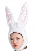 ADJOY Plush Party Rabbit Hat