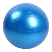 Stebcece Yoga Balance Ball - Professional Grade – Anti Burst Exercise Equipment for Home, Balance, Gym, Core Strength, Yoga, Fitness, Desk Chairs - Blue