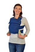 Marsupi Compact Front and Hip Baby Carrier Blue/Ocean