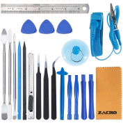 Zacro 21 in 1 Professional Opening Pry Tool Repair Kit with Adjustable Anti-Static Wrist Strap