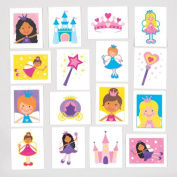 Fairy Princess Temporary Tattoos for Children - Great Toy Party Bag Filler Loot Gifts for Kids