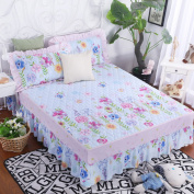 YFFS Cotton Cotton Single Bedspreads Bed Skirts Plus Cotton Thicker Double Cotton Bed Sheets,180*200cm