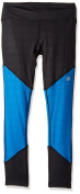 Life Fitness Apparel Womens Colorblock Legging with Grid Embossed Panel