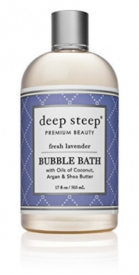 Deep Steep Bubble Bath, Fresh Lavender, 500mls