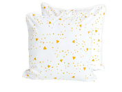 Kraft Kids cushion cover Rounded Triangle Yellow