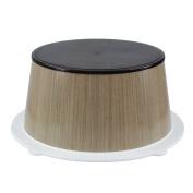 CrazyGadget® Childrens Bathroom Step Stool Potty Training Aid Safe Plastic Non Slip Bathroom Toilet Sink Stool - Natural