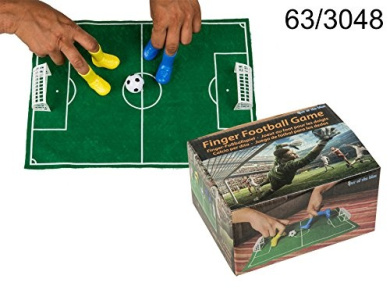 Finger Football Game with Two Goals