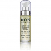BON Rose Hip Facial Oil Serum. Natural Anti-Ageing Topical Treatment to Improve Fine Lines & Wrinkles. Antioxidants and Vitamin C to Rejuvenate Skin Cells for Glowing Complexion (1-pk) 30 ml/ 1 fl oz
