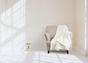 Royal Comfort - Faux Mink Blanket - 50inch x60inch - Off White