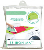 """EZ-Iron 28"""" x 21"""" Mat By Evriholder Magnetic Ironing Surface Pad Heat Resistant Table Top"""
