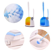 Besde Toilet Bowl Brush and Small Sink with Holder Brush Set for Toilet