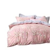 YOUSA Girls Bedding Set Chic Vintage Duvet Covers Full