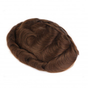 YOKWI TR-NG0000 Next Generation Skin Full Poly Natural Toupee Hair