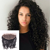 Ear to Ear Lace Frontal Curly Closure 13x 4 /Silk Base Lace Frontal Free Part With Baby Hair Unprocessed Brazilian Virgin Hair