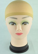 GEX Unisex Nylon Wig Caps Soft High Elastic Wig Caps Stocking Liner Snood Mesh Stretch Hair Control 4PCS