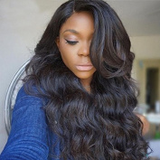 Helene Hair Modern Wavy 100% Human Hair Body Wave Hairstyle Glueless Full Lace Wigs with Baby Hair Human Hair Lace Wigs for Black Women