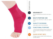 Acelec Plantar Fasciitis Socks Ultimate Support Sleeves For Your Aching Heels,Ideal Gift For Runners Running, And Cycling,Climbing etc
