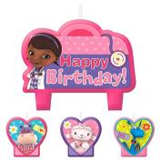 Disney Doc McStuffins Birthday Candle Setæ