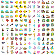 144 Kid's Party Bag Fun Novelty Temporary Transfer Tattoos 1 Pack Of Each Theme