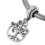 925 Sterling Silver Tree of Life Charm Tree Charm Family Charm Love Charm fit for Pandora Bracelet
