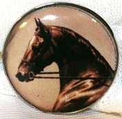 Fine Art Horse Snap ELEGANT HORSE PONY HEAD 18-20MM Great Horse Item! SOME WITH BUBBLES!
