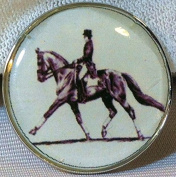 Fine Art Horse Snap DRESSAGE EXTENDED TROT 18-20MM Great Horse Item! SOME WITH BUBBLES!