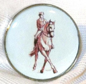 Fine Art Horse Snap DRESSAGE HALF PASS 18-20MM Great Horse Item! SOME WITH BUBBLES!