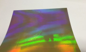 Holographic Rainbow Sheets, 4 30cm x 30cm Sheets