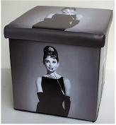 Audrey Hepburn storage box 36x36x36-1055