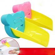 Lecent@ Baby Faucet Extender Bath Spout Cover Sink Handle Extender for Toddlers, Kids, Babies