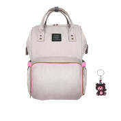 Nappy Bag Waterproof Travel Backpack . Nappy Bags with Multi-Function for Baby Care