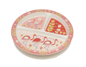 Sugarbooger Divided Suction Plate, Flamingo