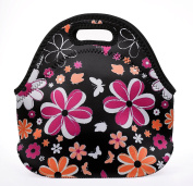 Shubb Waterproof Insulated Thermal Cooler Lunch Bag Picnic Storage Box Tote Black
