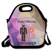 Electrical Engineer Large & Thick Insulated Tote Lunchbag With Containers Lunch Bag For Men Women Kids Art Of Lunch