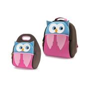 Dabbawalla Hoot Owl Backpack & Luch Bag Set