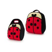 Dabbawalla Lady Bug Backpack & Lunch Bag Set