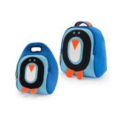 Dabbawalla Cold Feet Penguin Backpack & Lunch Bag Set
