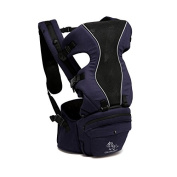 BayB Brand Colorland Blue Baby Carrier