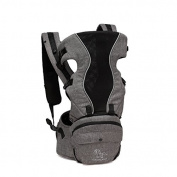 BayB Brand Colorland Grey Baby Carrier