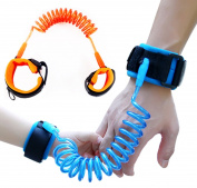 Skin Friendly Safety Child Anti Lost Wrist Link Harness Strap Rope Leash Walking Hand Belt 1.5m+2.5m Set