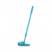 180 Degrees Rotating Clean Reach Mop - Ehonestbuy Helper Mop With Good Grips Extendable Tub, Tile Scrubber and Clean the bathroom and corner