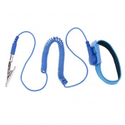 UEB 1.8M Wire Anti-Static PVC Wristband with Discharge Cables Wrist Strap