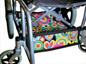 Waterproof Foldable Wheelchair Under Seat Storage Bag, Wheelchair Underneath Carrier, Wheelchair Under Seat Basket, Wheelchair Bag, Wheelchair Accessories, Wheelchair Underneath Bag
