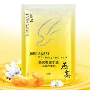 Quartly Soft Nutritious White Hand Mask Exfoliating Moisture Peeling Remove Hard Dead Skin Mask Makeup
