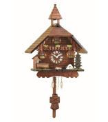 Kuckulino Black Forest Clock Black Forest House with quartz movement and cuckoo chime, incl. battery TU 2034 PQ
