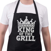 Funny BBQ Apron Novelty Aprons Cooking Gifts for Men King Of The Grill