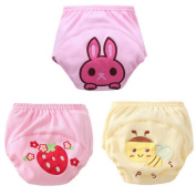 Happy Cherry Potty Training Pants Leakage Nappy Covers Pack of 3