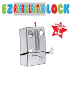 AS SEEN ON FOX 9 NEWS - EZ Refrigerator Lock - FREE Baby Safety Book with Order - Keep your baby safe!!!